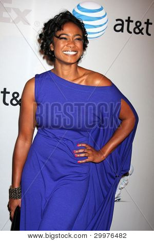 LOS ANGELES - FEB 11:  Tatyana Ali arrives at the NAACP Image Awards Nominees Reception at the Beverly Hills Hotel on February 11, 2012 in Beverly Hills, CA