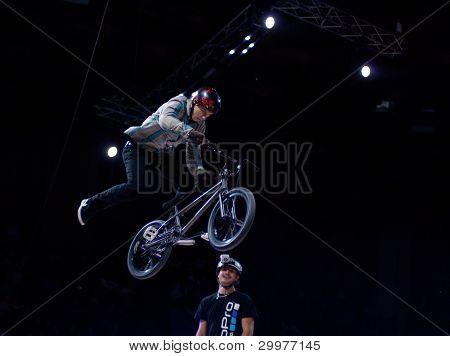 Mountain Bike Trial Rider