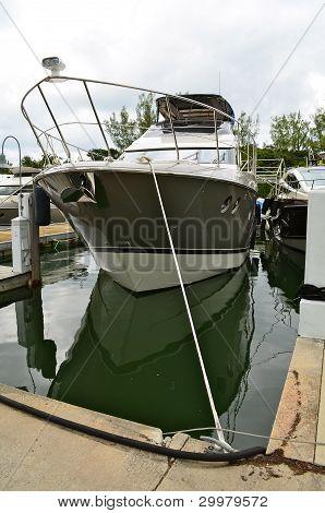 UpscaleSport Fishing Boat