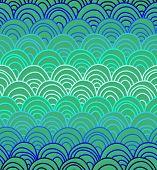 Постер, плакат: Плоскоклеточная текстуры в ярких цветах