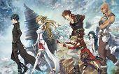 Group Of Anime Boys And Anime Girl poster
