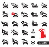 foto of car repair shop  - Car Service Icons - JPG