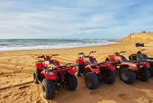 Quad Tour At The Beach In Essaouira, Morocco poster