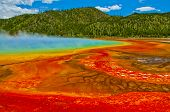 Grand Prismatic Spring Yellowstone