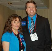 JIM BOB DUGGAR E MICHELLE DE FEVEREIRO DE 2012 DE WASHINGTON, DC