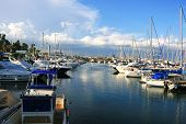 picture of larnaca  - Yachts in Larnaca port Cyprus - JPG