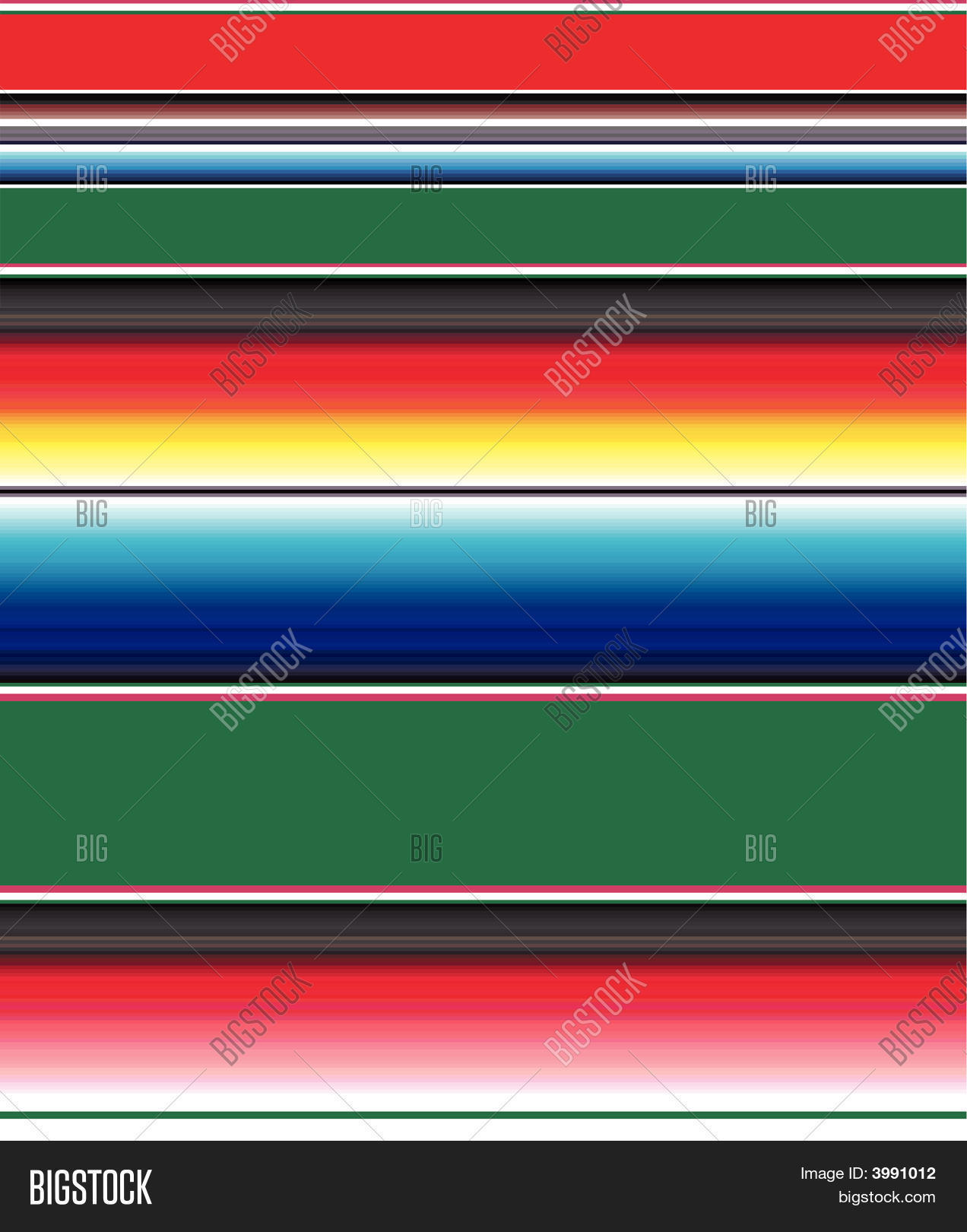 Mexican-Blanket-Pattern Vector & Photo | Bigstock