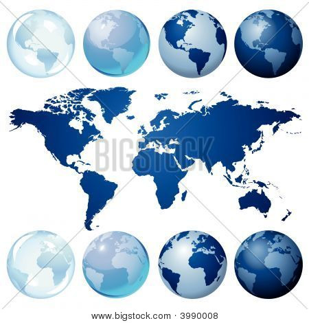 Kit de globo azul