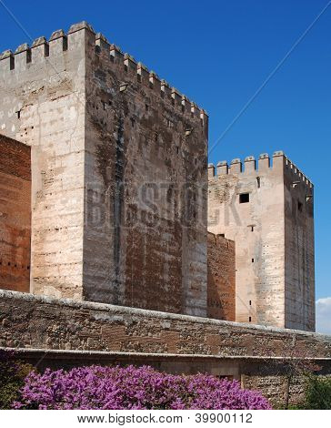 Castle, Palace of Alhambra, Spain.