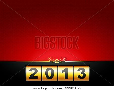 vector happy new year design with space for your text