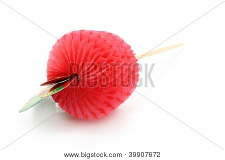 Cocktail paper fruit