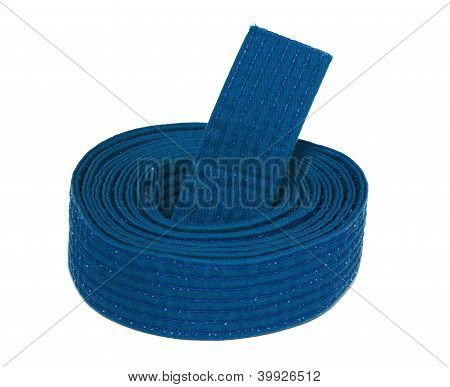 Coiled Karate Blue Belt
