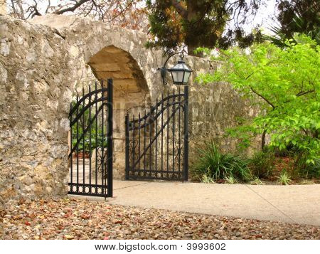 Alamo North Entrance Gate