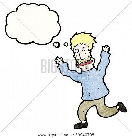 Vectores y fotos en stock de hombre de dibujos animados corriendo ...