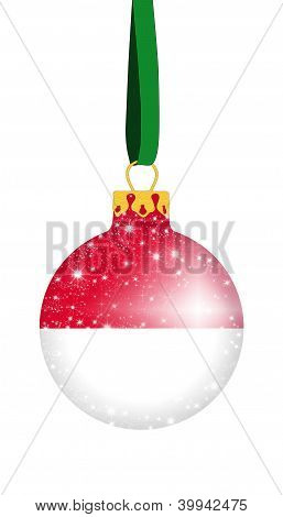 Christmas ball - Monaco