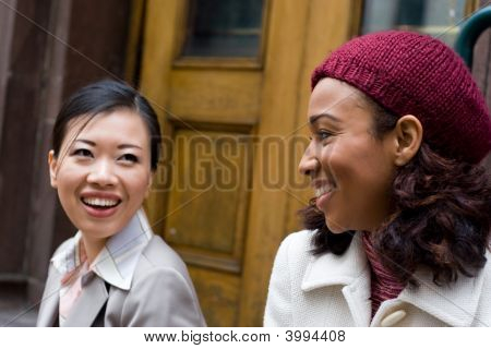 Buiness Women Chatting