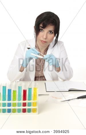 Scientist At Work