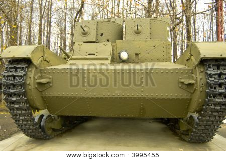 The T26 Two Turret Light Tank