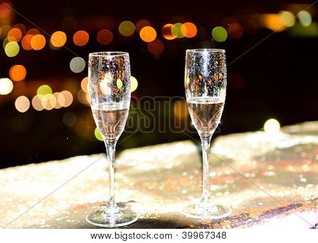Two Glasses On The Night.