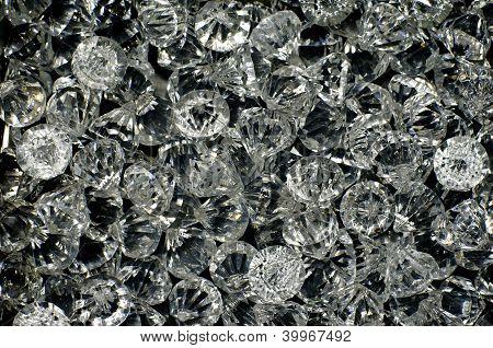 Plastic Diamond Bead