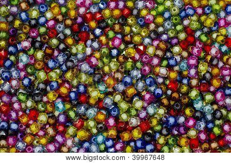 Plastic Colorful Bead