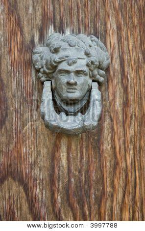 Old Bronze Door Knocker