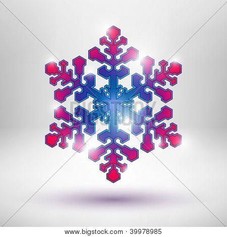Resumen copo de nieve de Navidad