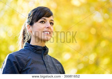 Sport Woman Portrait