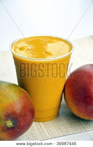 Mango Drink Smoothie