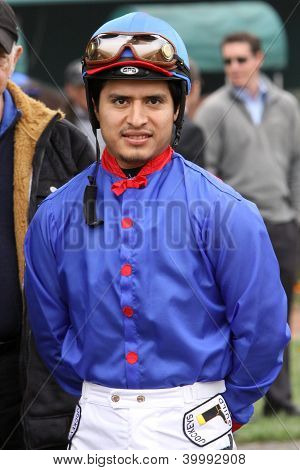 Thoroughbred Jockey Mario Gutierrez