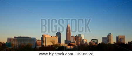 Skyline von Charlotte North carolina