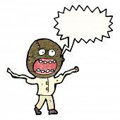 pic of madman  - cartoon crazy madman - JPG