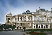 Постер, плакат: Одесский Национальный академический театр оперы и балета