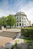 picture of ekaterinburg  - the old part of city with classicism style houses - JPG