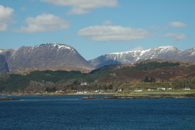 picture of carron  - Loch Carron from the south - JPG