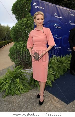 LOS ANGELES - AUG 18:  Anne Heche at the Oceana's 6th Annual SeaChange Summer Party at the Beverly Hilton Hotel on August 18, 2013 in Beverly Hills, CA