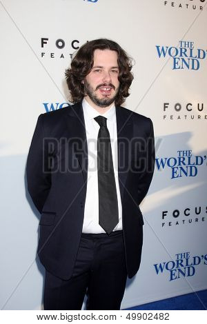 LOS ANGELES - AUG 21:  Edgar Wright at