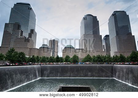 Memorial Plaza In New York City