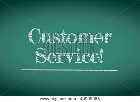 Customer Service Illustration Design
