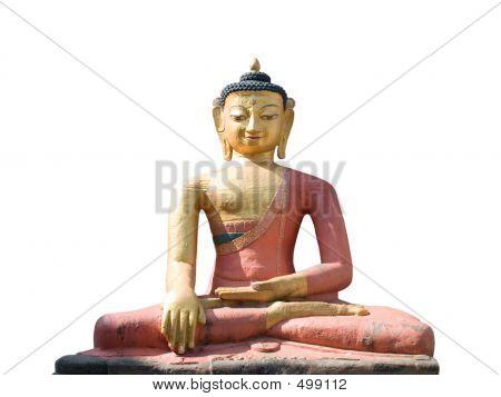 Dhyani Buddha Aksobhya Statue