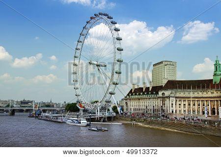 London Eye, 443 Ft Tall