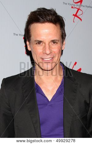 LOS ANGELES - AUG 24:  Christian LeBlanc at the Young & Restless Fan Club Dinner at the Universal Sheraton Hotel on August 24, 2013 in Los Angeles, CA