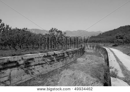 The Manger Ditch In The Eastern Royal Tombs Of The Qing Dynasty, China