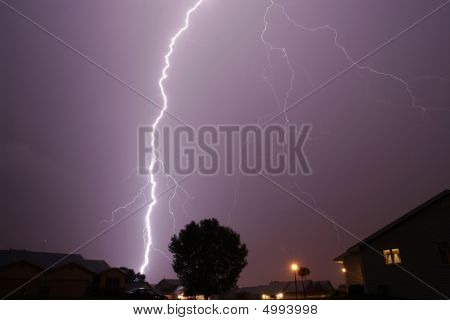 Lightning Cloud To Ground