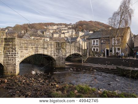 hebden bridge in yorkshire