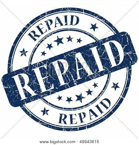 Repaid Stamp