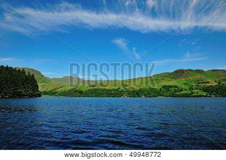 Across A Scottish Loch.