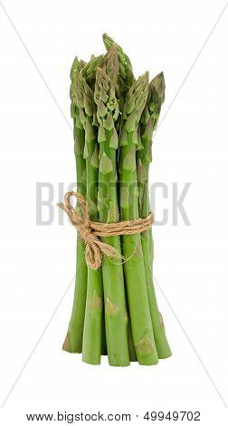 Asparagus Spears Bunch Isolated