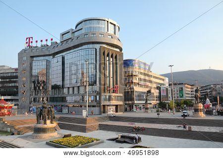 T Mobile Building Skopje