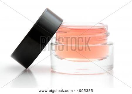 Open Cosmetic Jar